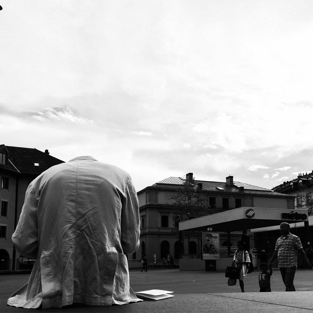 Place de la Riponne, Lausanne