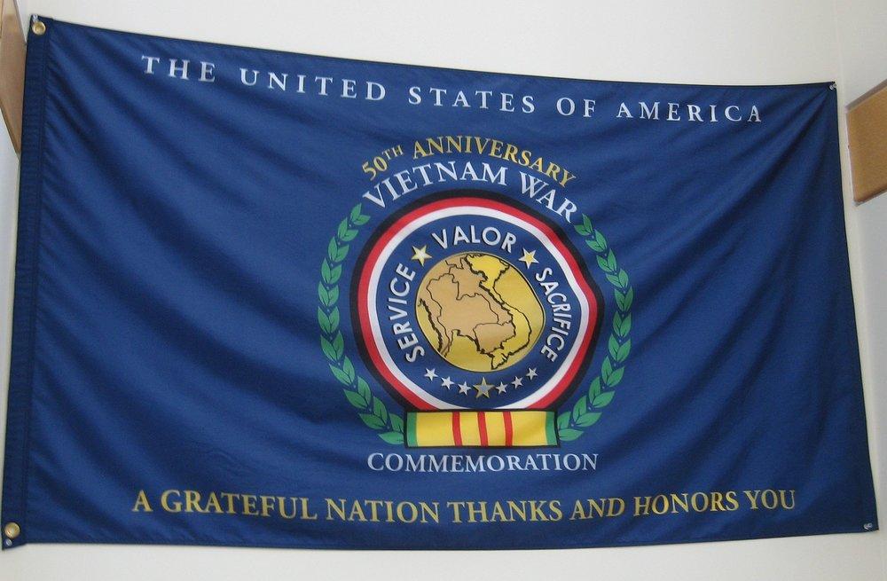 Viet-Nam 50th Anniversary Banner