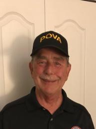 POVA Life Member and Vice President for Finance Rich Hosier