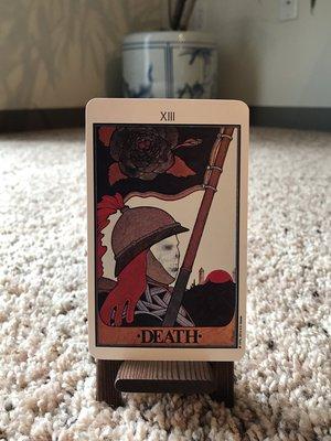 XIII Death - The Aquarian Tarot