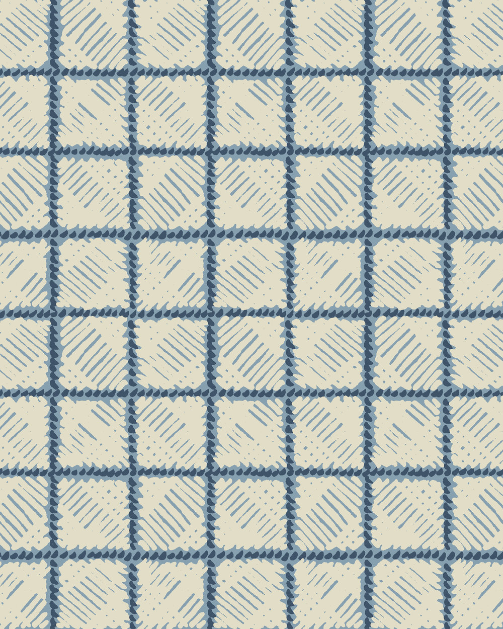 Rattan Grid Repeat Blue Ground White Check.jpg