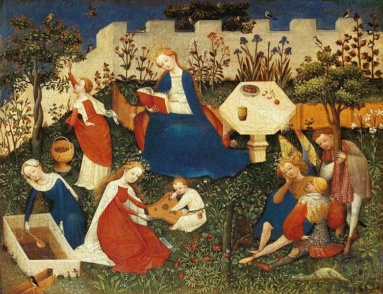 Little Garden of Paradise, German, between circa 1410 and circa 1420