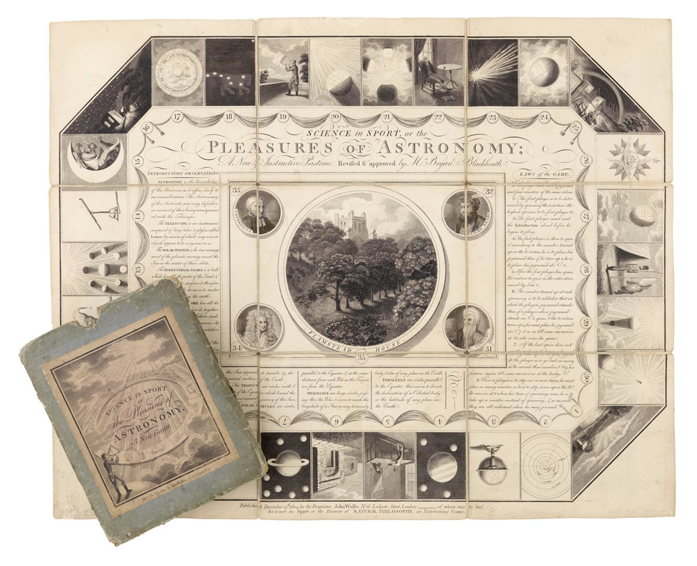 """""""Science in Sport or the Pleasures of Astronomy,"""" 1804."""
