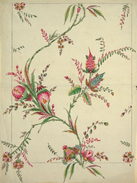 A Robert Hadley design from the Cooper Hewitt's collection.