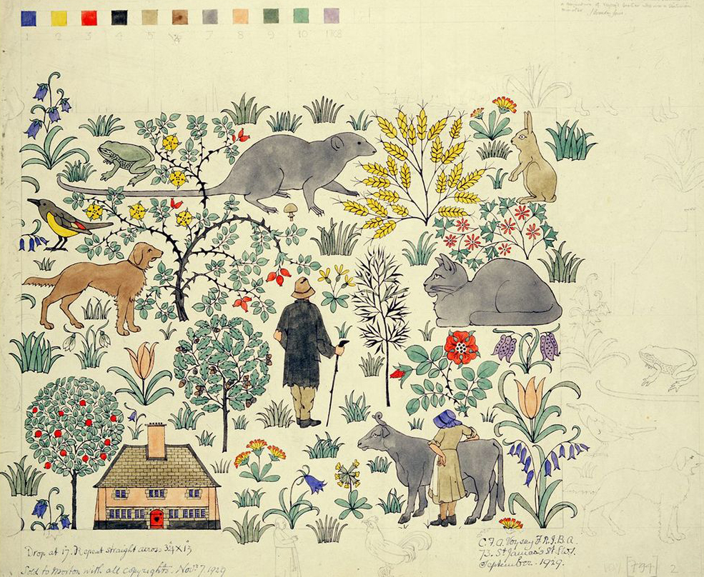 """""""The House that Jack Built,"""" Charles Voysey, 1929."""