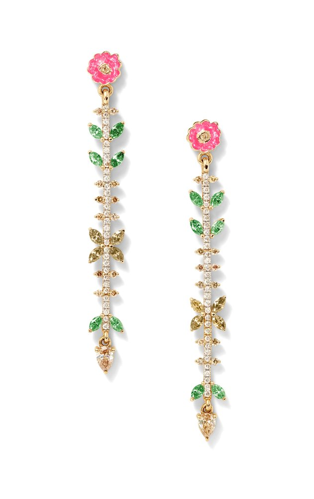 Earrings from the capsule collection.