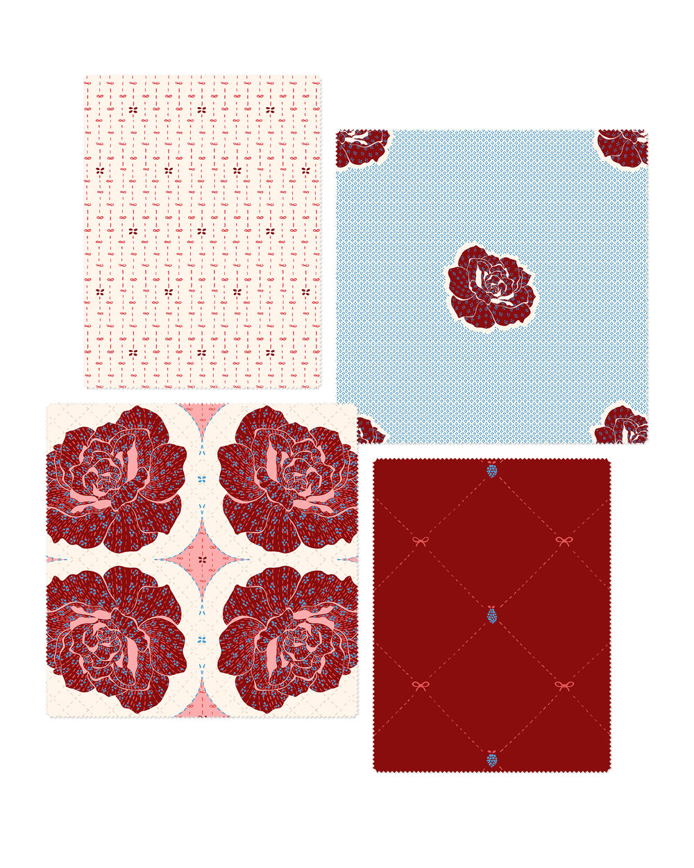 Designs by Katy Rosenthal Roses Berries and Bows Collection.jpg