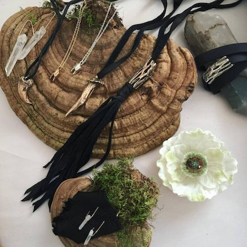 Gypsy Hawk Jewelry - Artist Heather West Introducing the newest addition to our jewelry collection. Heather will show off her bold statement pieces that are not just beautiful, but solidly grounded to nature.