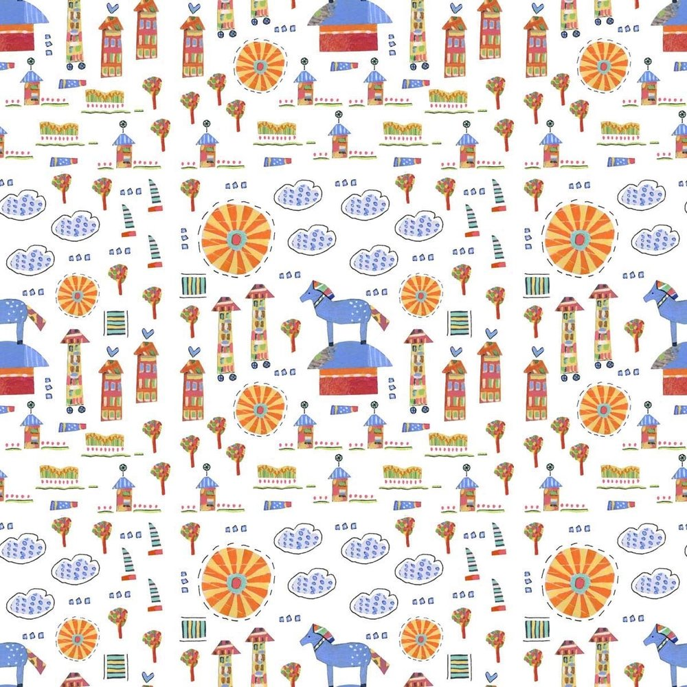 The Story is Happening Pattern