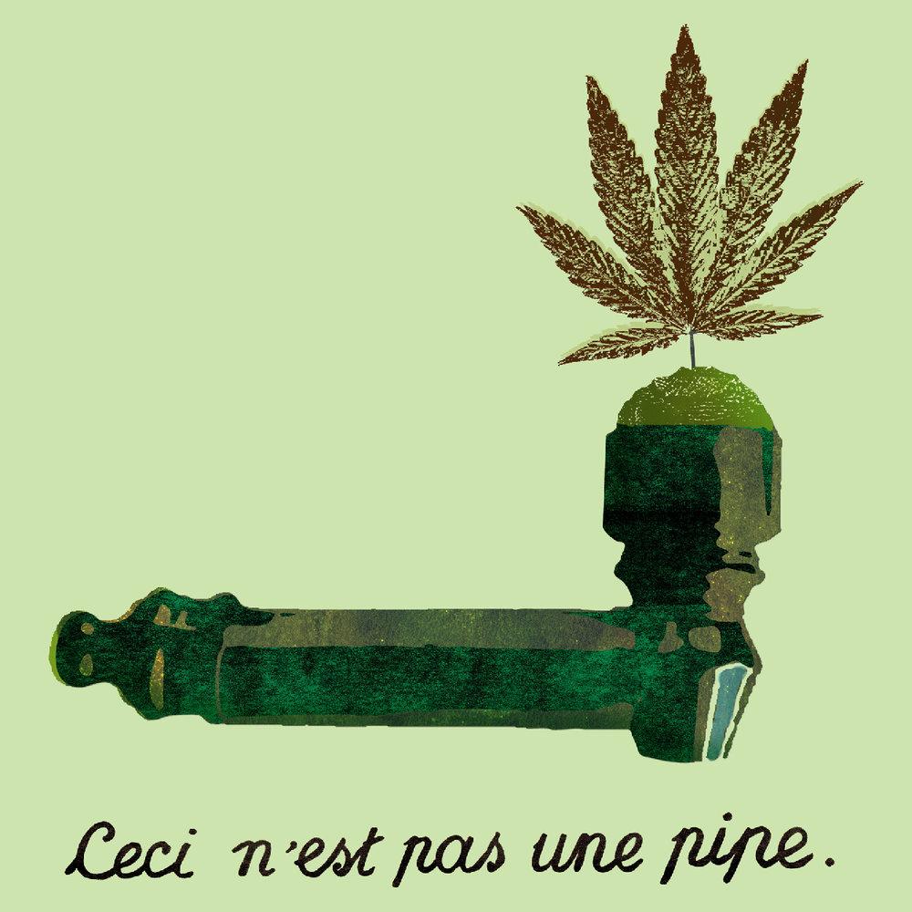 Ceci n'est pas une pipe<br>Poster