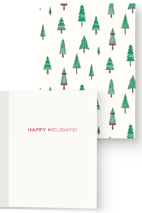 Christmas Tree Pattern Card — Casey Altman Design Inc.