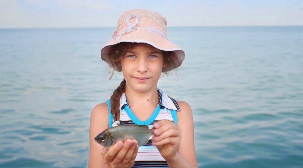 Take Me Fishing TV image. Directed by David Serota of GARTNER.