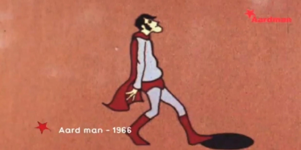 'Aard man' - Named after one of their earliest characters, (the cell animated superhero that appeared on the BBC show 'Vision On' in 1972), Peter Lord and David Sproxton created Aardman, an animation company that would begin a journey that embraces a love of comedy, storytelling and above all characters.