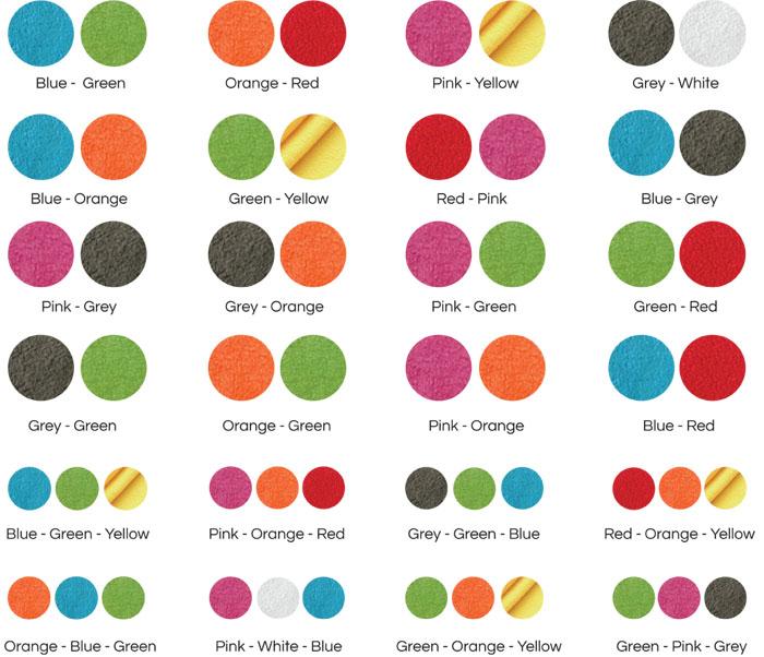 Les couleurs peuvent être légèrement différentes des celles montrés sur l'écran