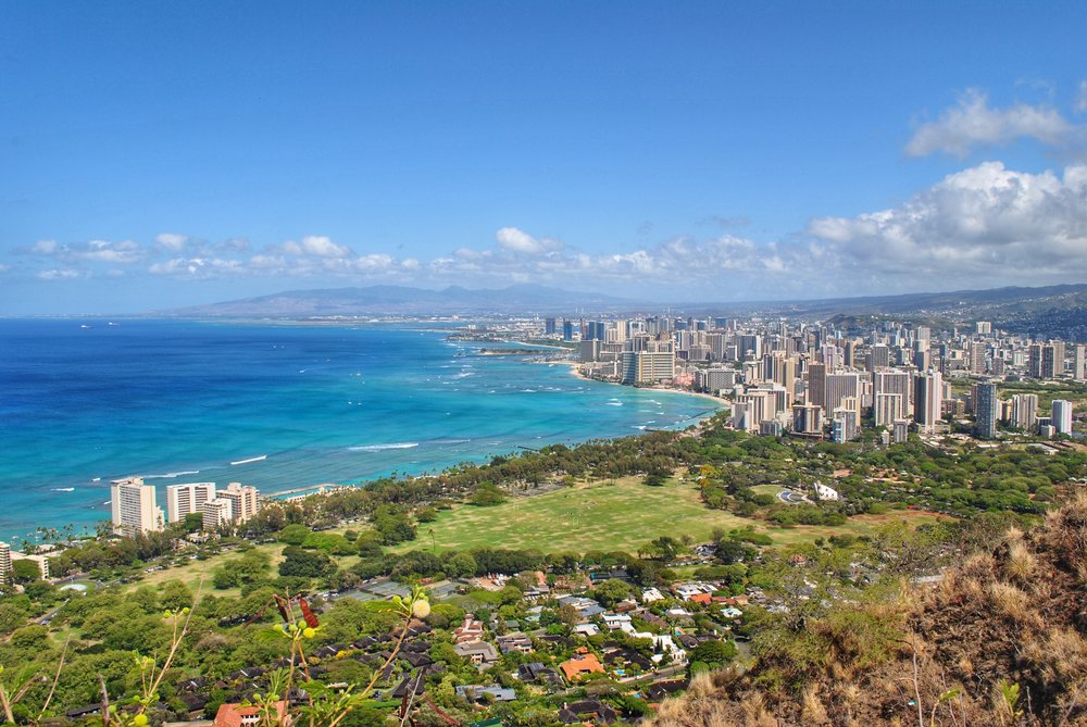 Honolulu from Diamond Head