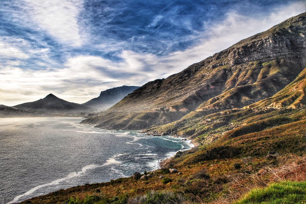 Chapman's Peak from Hout Bay