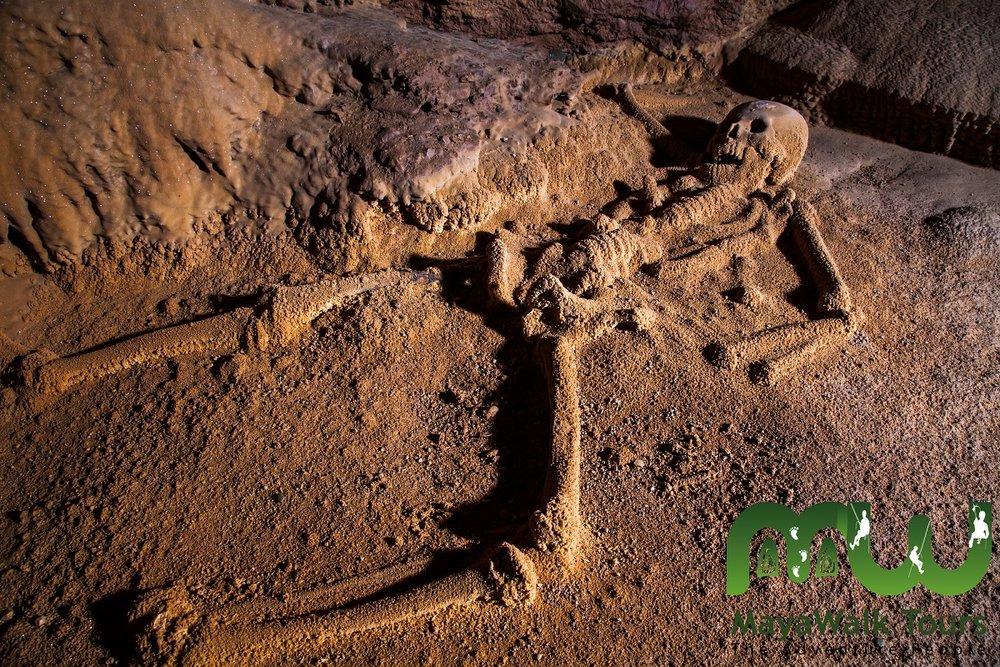 ATM Cave Mayan Skeleton