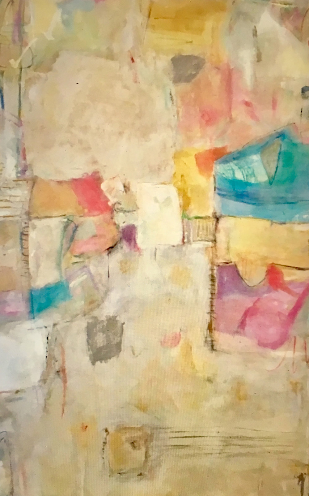 "GARDEN DISTRICT / 60"" x 36"" / SOLD"