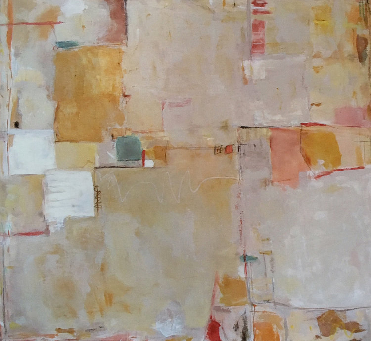"""BOOKED / 48"""" x 48"""" / SOLD"""