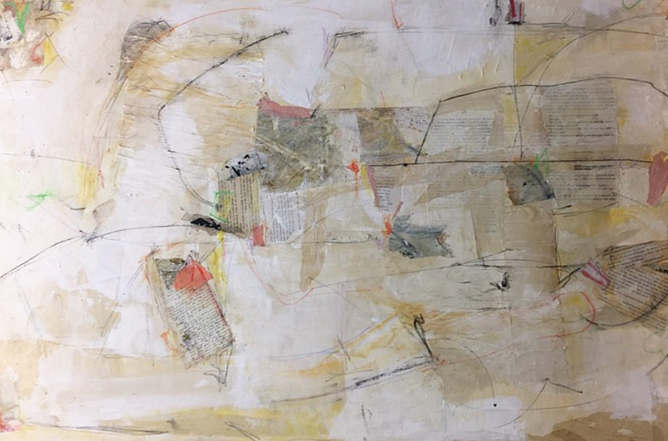 """INSIDE THE LINES / 24"""" x 36"""""""