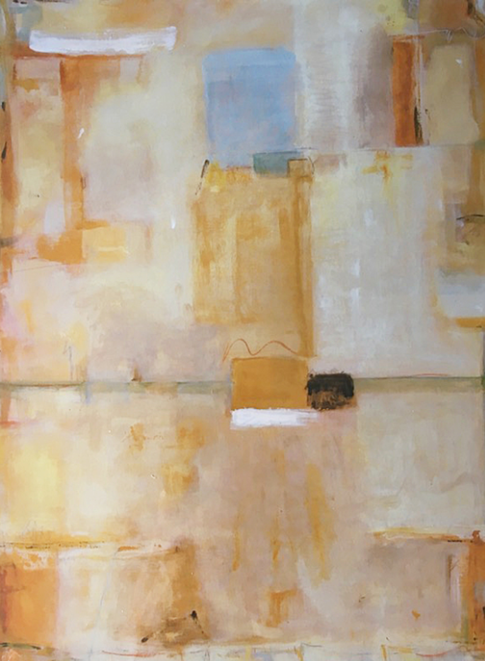 "NEUTRAL GROUND / 48"" x 36"" / SOLD"