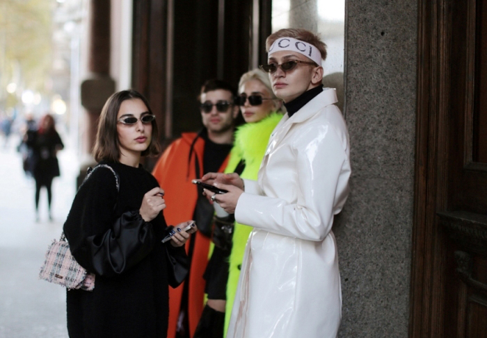 Gucci Logo Headband, MSGM Turtleneck, Pawaka Empat 4 sunglasses