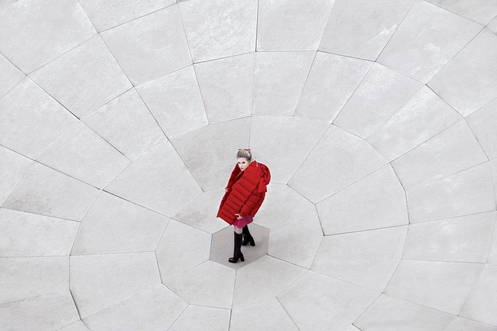 La Galleria Balenciaga puffer jacket