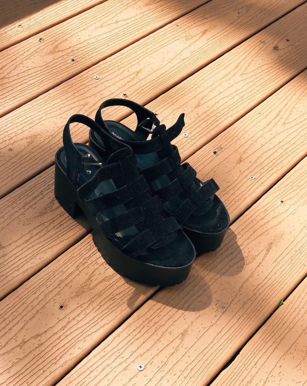 Chunky Concert Sandal