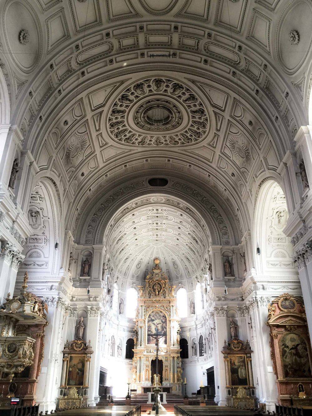 Munich - The Frauenkirche Church