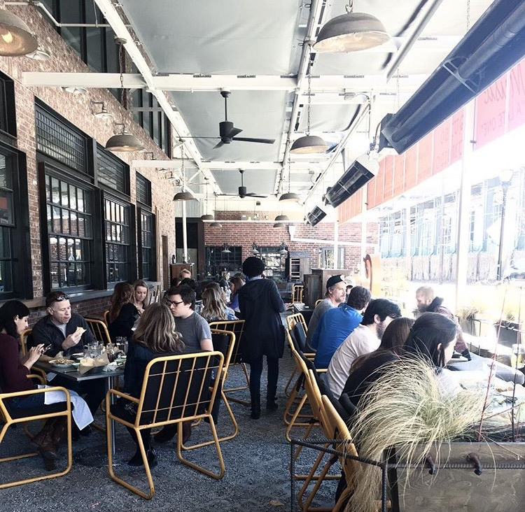 Patio fever was so real at Superica, the Krog Street Market location