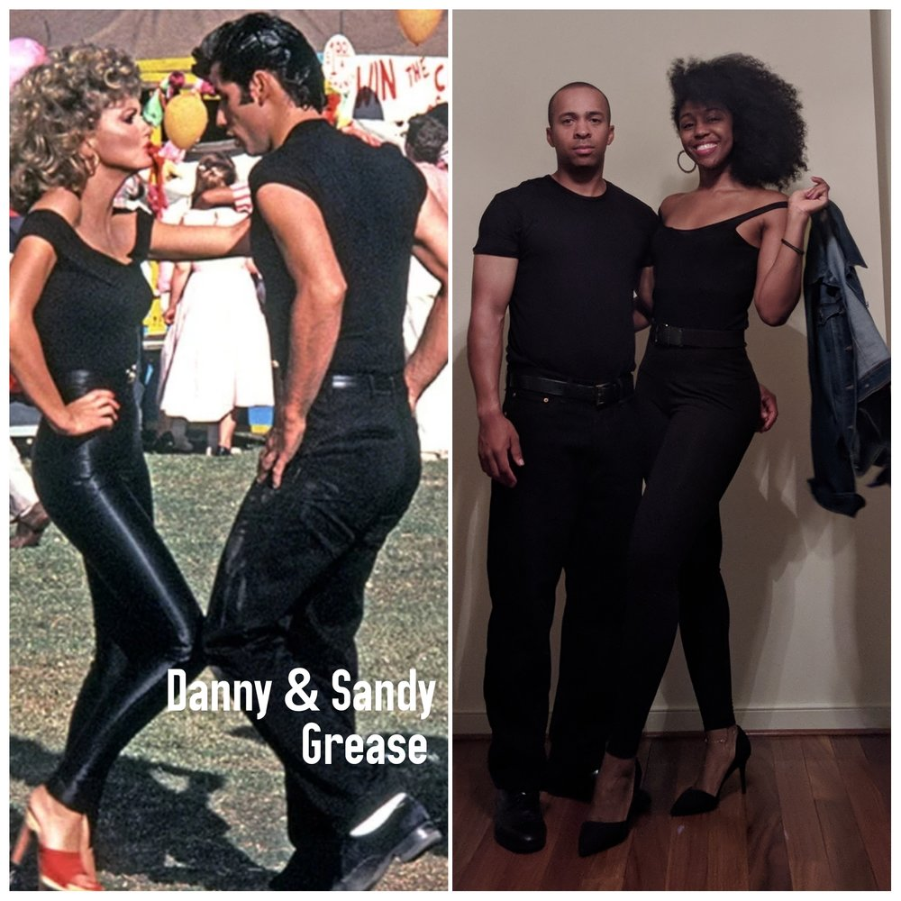 danny and sandy grease halloween costumes