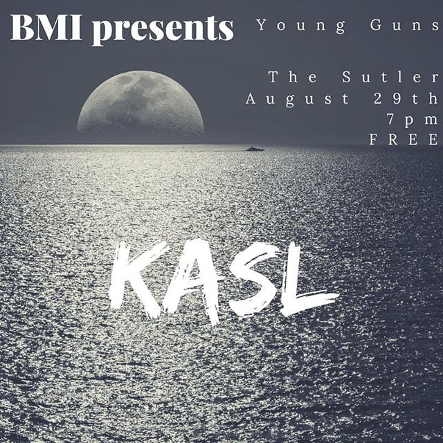 Hey Nashville! Please join us Wednesday night at @thesutler for the @bmi Young Guns show! We play at 7 ✌️❤️🤘