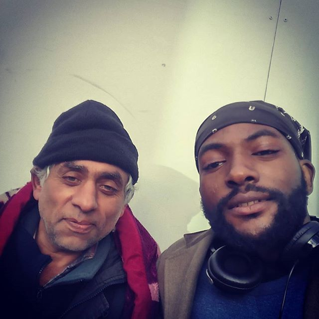 Me and the homie Zlatko #chillin  #homeless in #London