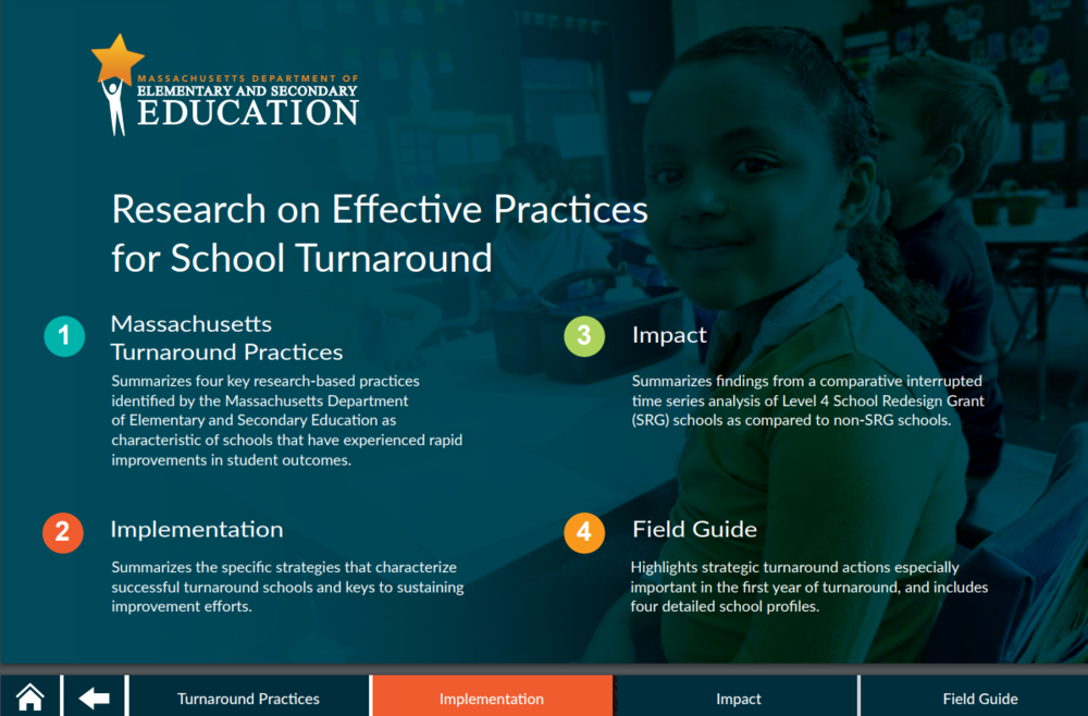Ma Dept Of Elementary And Secondary >> Research On Effective Practices For School Turnaround