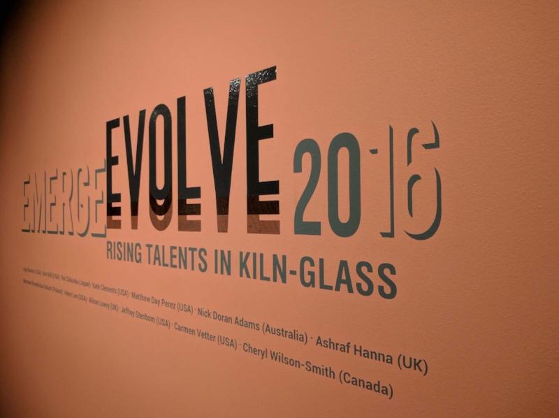 Bellevue Arts Museum: Vinyl Lettering