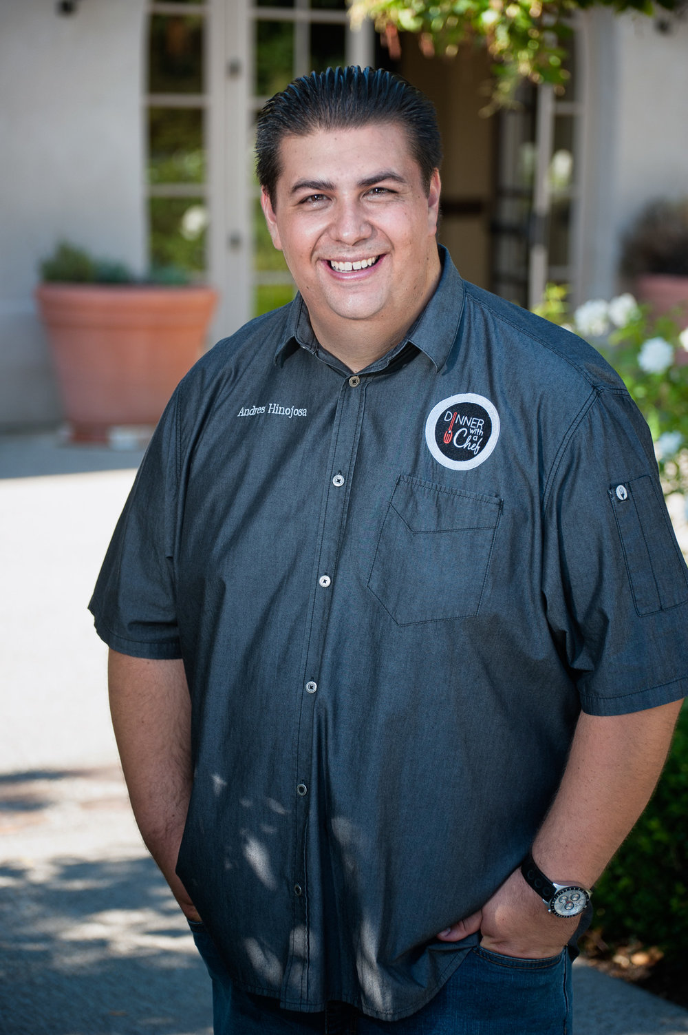 Andres Hinojosa | Head Chef/Owner | Dinner with a Chef
