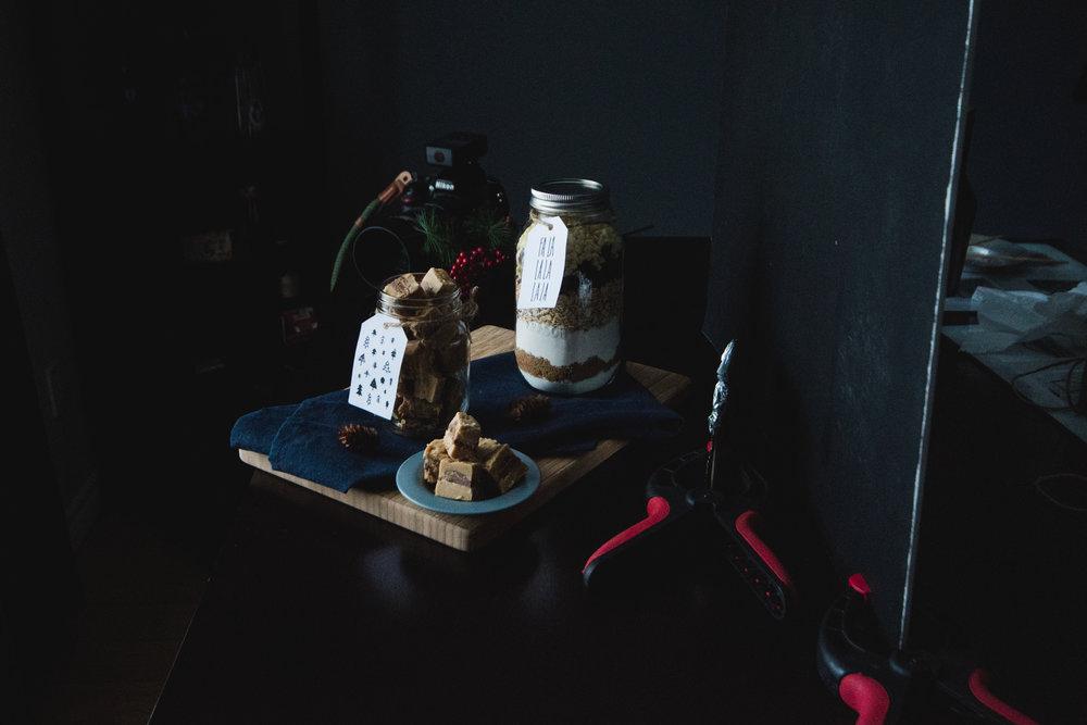 Setup pour le shoot photo - Parce que j'aime autant la photo que les desserts!