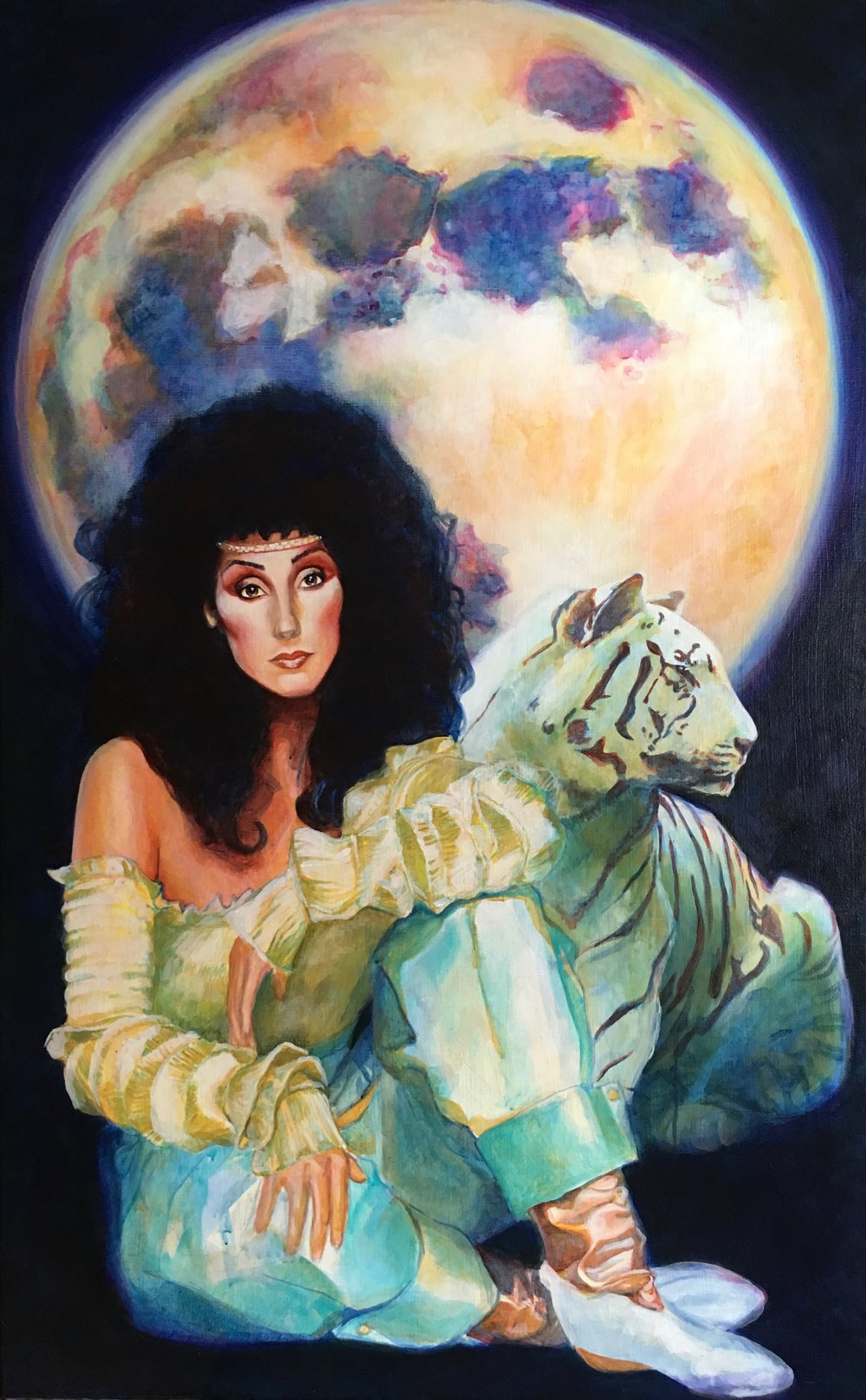 Goddess of the Moon and Her Cat.jpeg