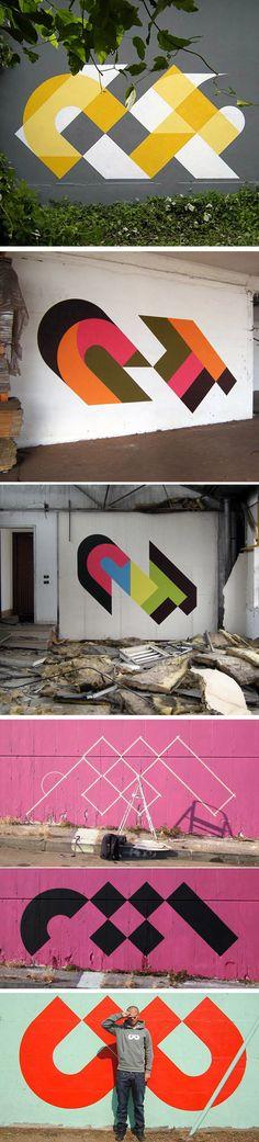 Geometric paint insp http://ift.tt/2awbW67