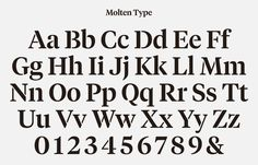 Typeface designed by