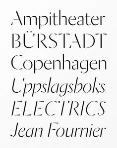The best typefaces o