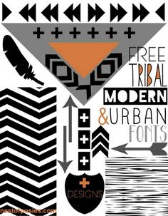 FREE Tribal, Modern,