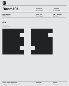 Room 1010 Typeface.