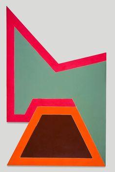 """Frank Stella """"Wolfeb http://ift.tt/1F09X1g"""