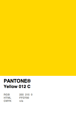 Pantone Solid Coated - 012 c