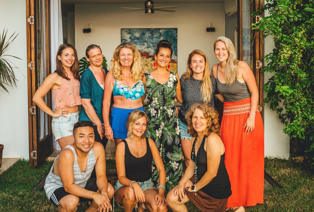 EVENTS AND RETREATS - Local and international wellness intensives.