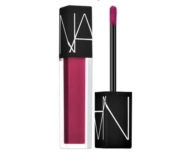 NARS   Velvet Lip Glide,   Danceteria,  $26, http://www.sephora.com/velvet-lip-glide-P412131  A pink lip for Valentine's Day is fun and flirty and a change from the typical red lip. This lip gloss is so much more, rather a lipstick in a gloss form. It glides on soft, but lasts and has a semi-matte finish to it, making it closer to a lipstick rather than a gloss. I know I'll be wearing mine for the special day.