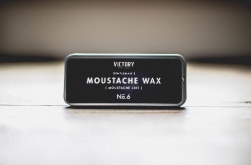 Victory Barber & Brand ,   Gentleman's Moustache Wax,  $10  For that gentleman in your life who wants his moustache to look perfect from day to night. This wax has a classic medium hold and delicious scent of honey and mint. Made in shop at Victory Barber, Victoria, BC a great local gift to pick up for that important and stylish man in your life.