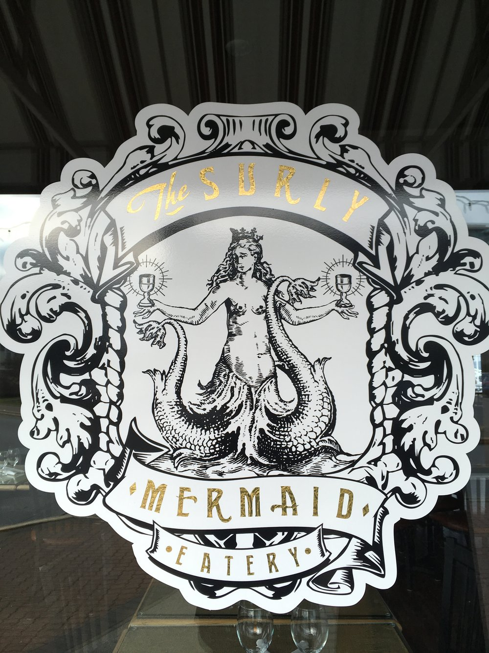 The Surly Mermaid , Sidney, BC