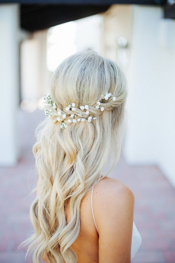 Inspiration for  bridal hair